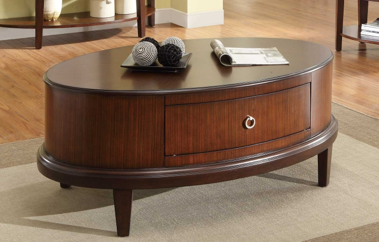 Ocala Cocktail Table - Cherry� - Homelegance