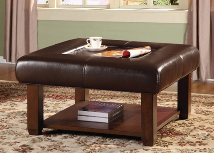 Carroll Storage Ottoman - Homelegance