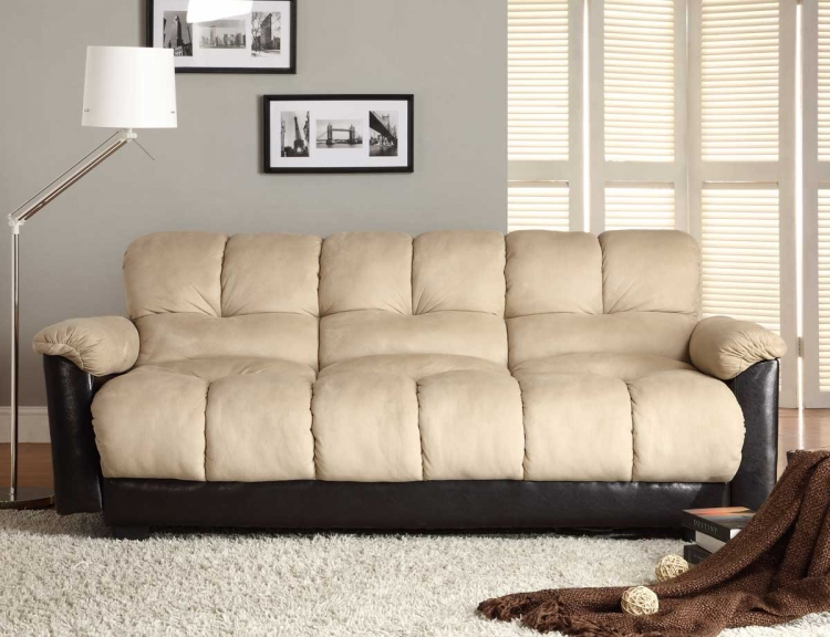 Piper Elegant Lounger Sofa Bed - Homelegance