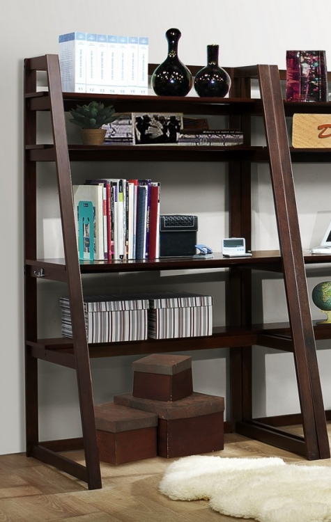 Olson Desk with Shelf - Homelegance