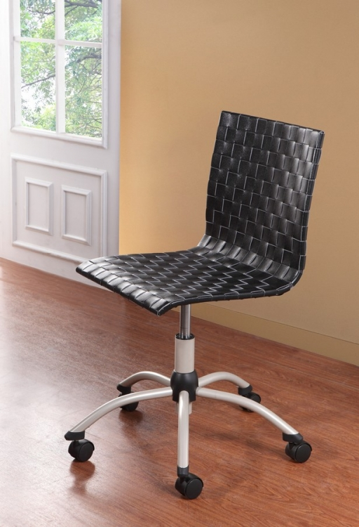 Network Gas Lift Side Chair in Champane - Homelegance