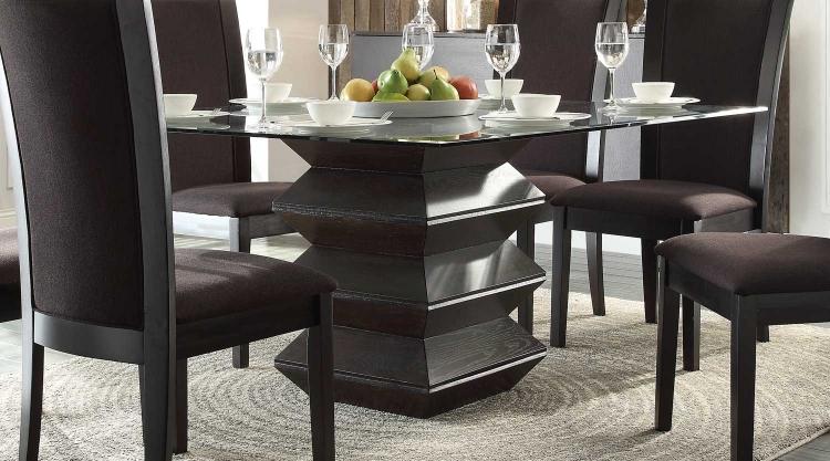 Havre Dining Table - Rich Dark Espresso