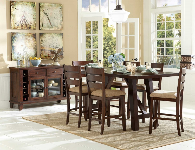 Denton Mills Counter Height Dining Set