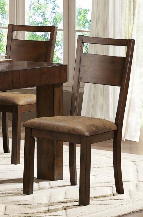 Eagle Ridge Side Chair - Light Brown Fabric