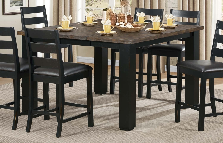 Hyattsville Counter Height Table - Black