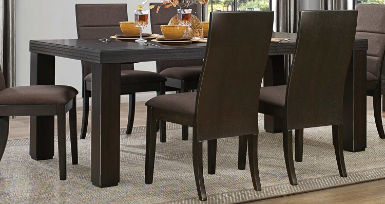 Pinole Dining Table - Dark Espresso