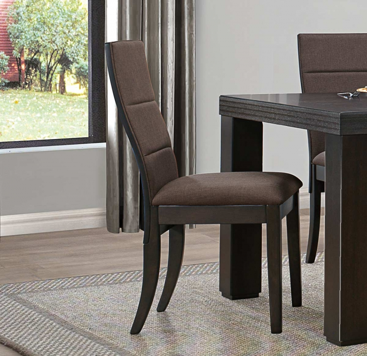 Pinole Side Chair - Dark Espresso