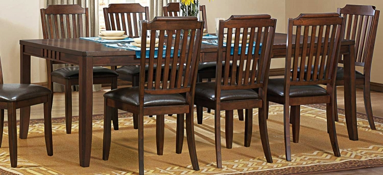 Dickens Dining Table - Rich Brown