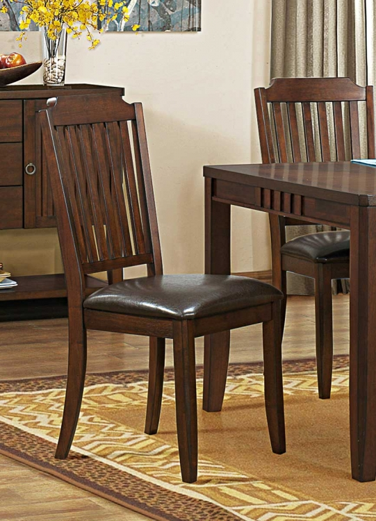 Dickens Side Chair - Dark Brown