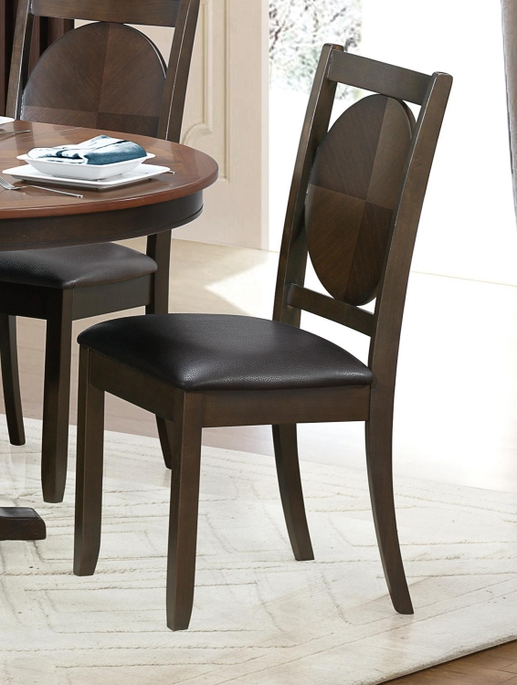Turing Side Chair - Dark Brown