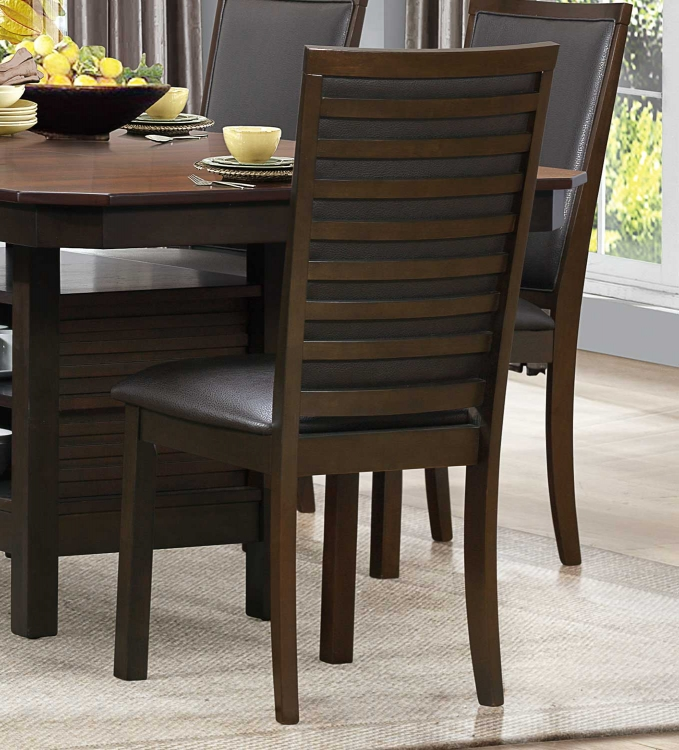 Corliss Side Chair - Dark Brown