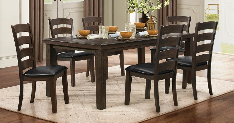 Pacific Grove Dining Set - Brown