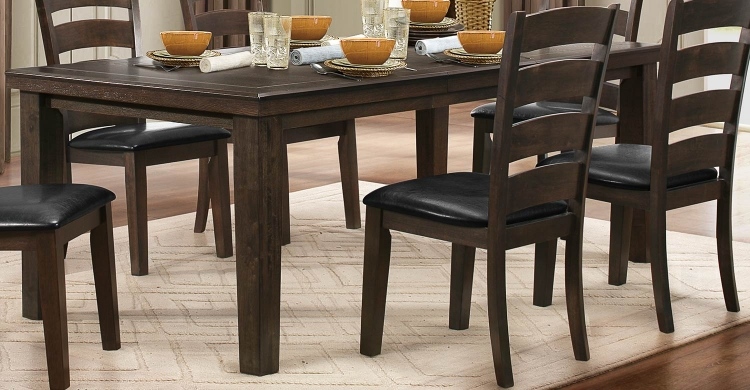 Pacific Grove Dining Table - Brown