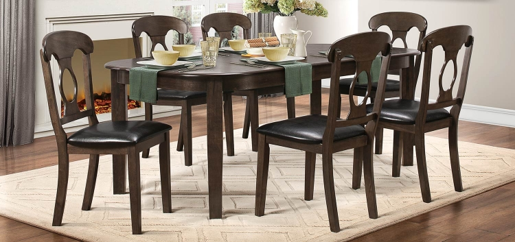 Lemoore Dining Set - Weathered Brown