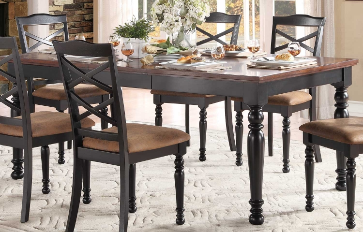 Isleton Dining Table - Black