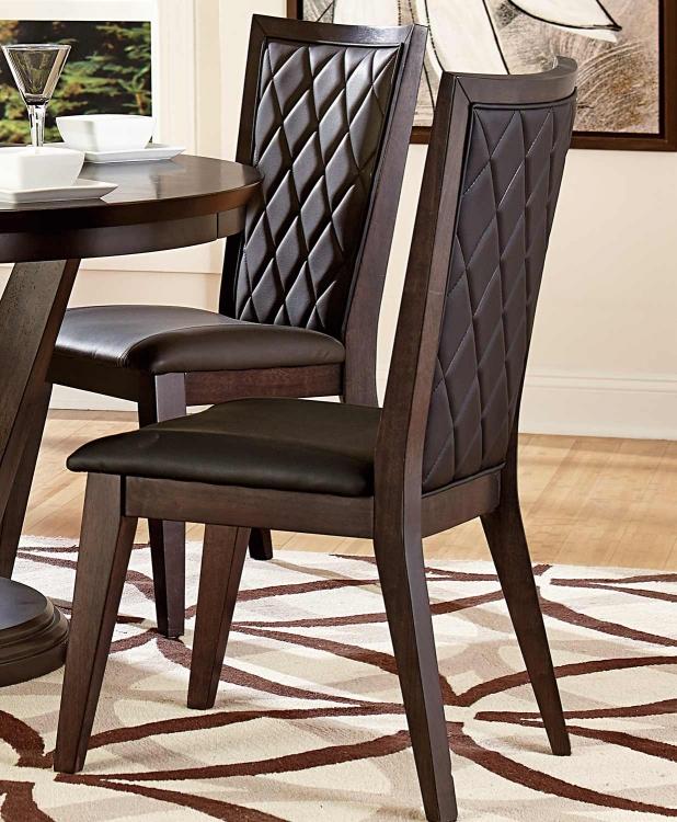 Villa Vista Side Chair - Dark Walnut