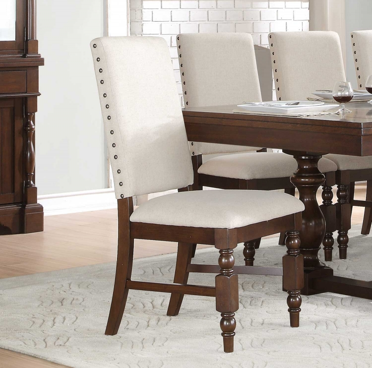 Yates Side Chair - Dark Oak