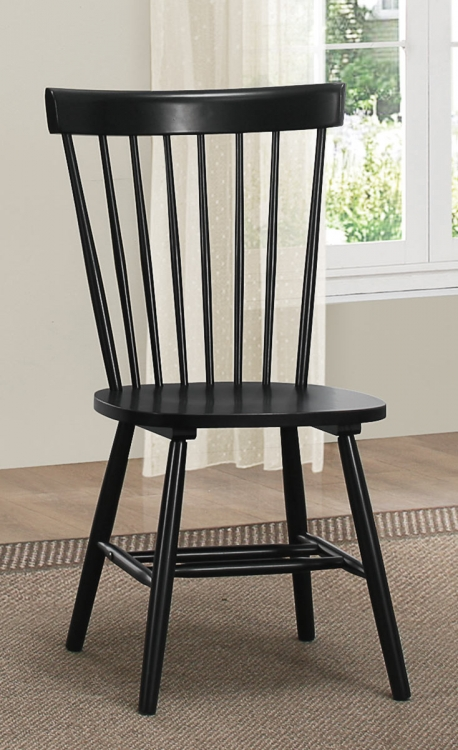 April Side Chair - Black