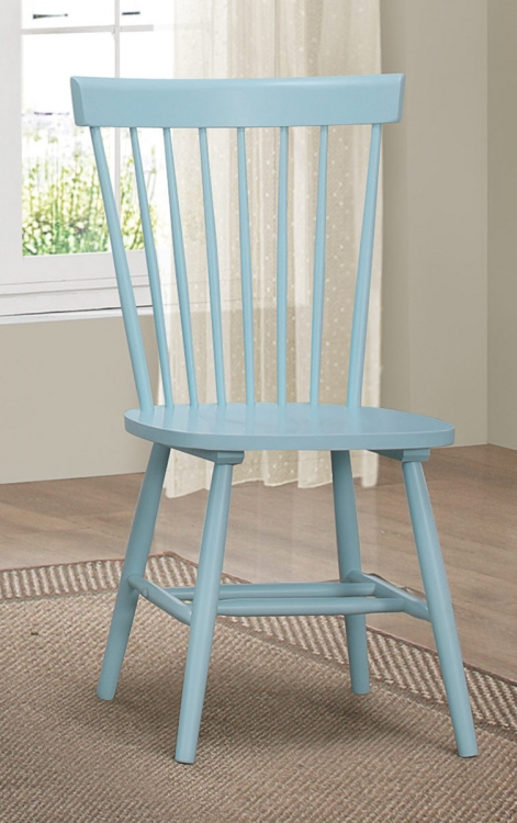 April Side Chair - Pastel Blue