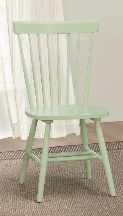 April Side Chair - Pastel Green