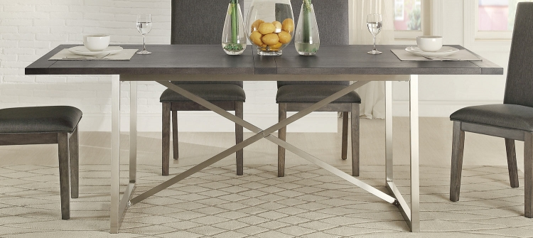 Fulton Dining Table - Weathered Grey