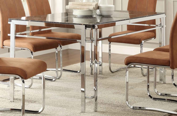 Watt Dining Table - Metal
