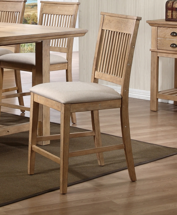 Candace Counter Height Chair - Natural
