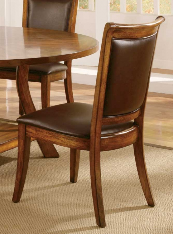 Barona Bonded Leather Side Chair