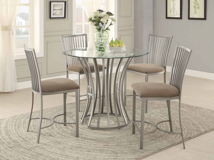 Sodus Counter Height Dining Set - Gunpowder Metal