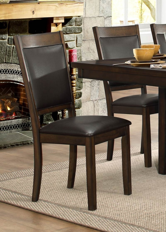 Wickham Side Chair - Burnished Dark Walnut