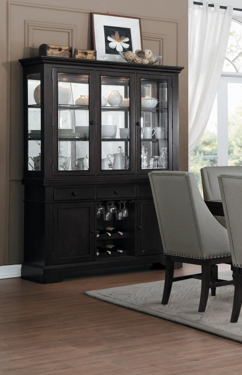 Reid China Cabinet - Cherry