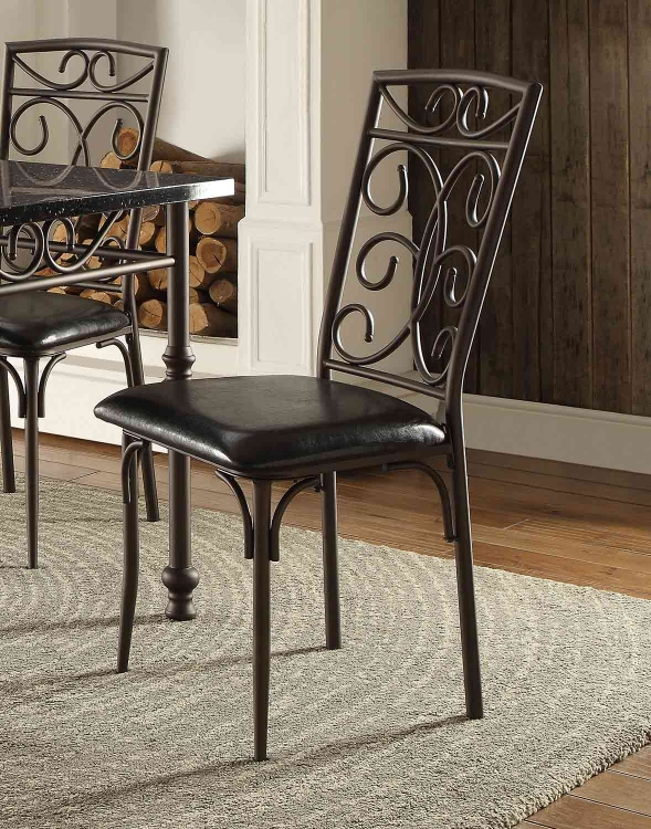 Dryden Side Chair - Metal