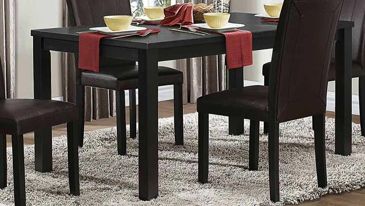 Toulon Dining Table - Black