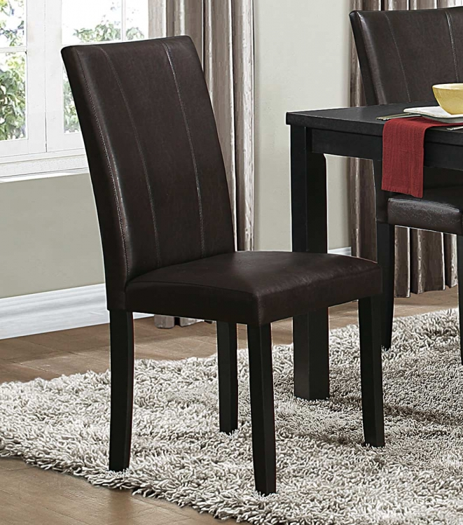 Toulon Side Chair - Dark Brown