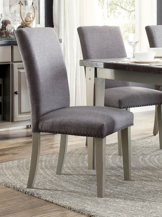 Mendel Side Chair - Grey