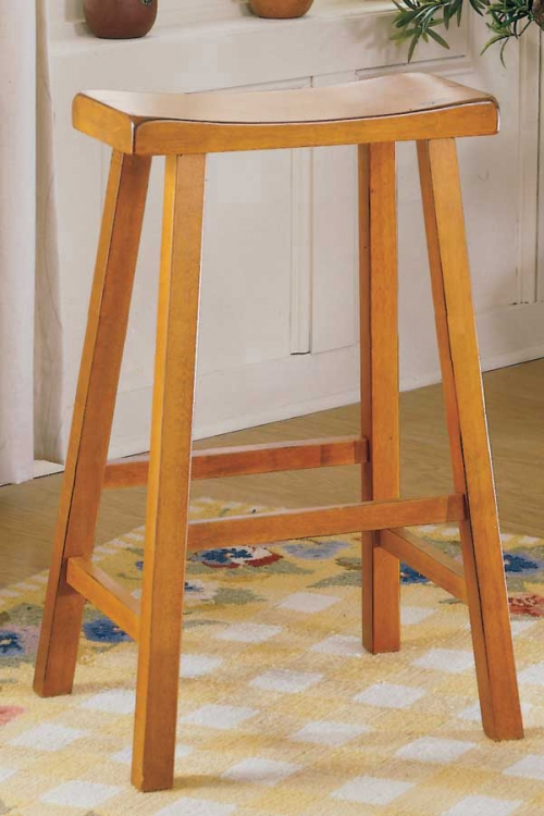 Saddleback 18 SH Stool-Homelegance