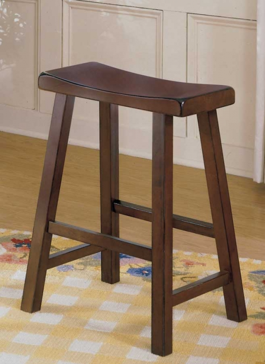 Saddleback 24 SH Stool-Homelegance