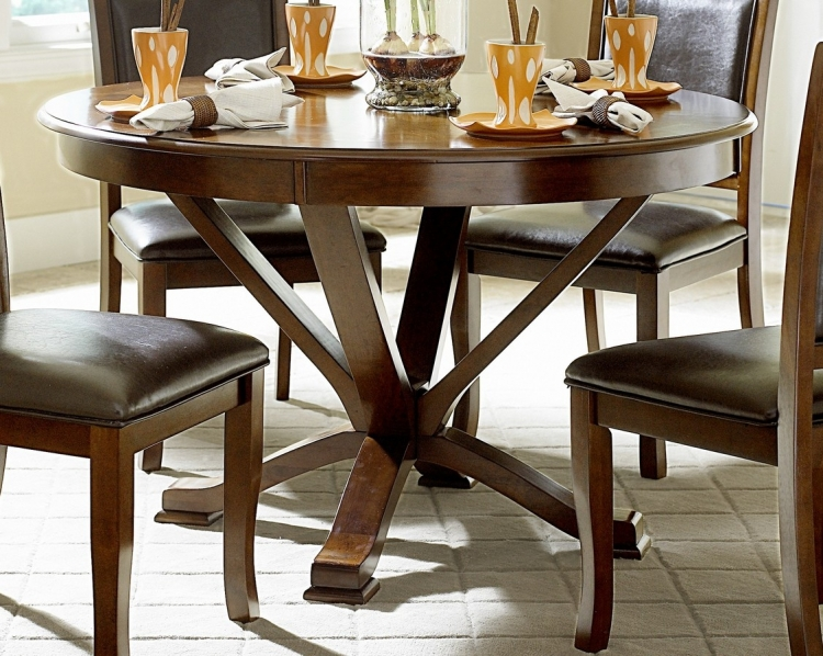 Helena 48in Round Dining Table - Homelegance