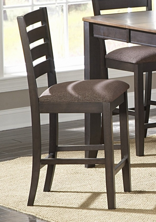 Natick Counter Height Chair in Ladder Back Style - Homelegance