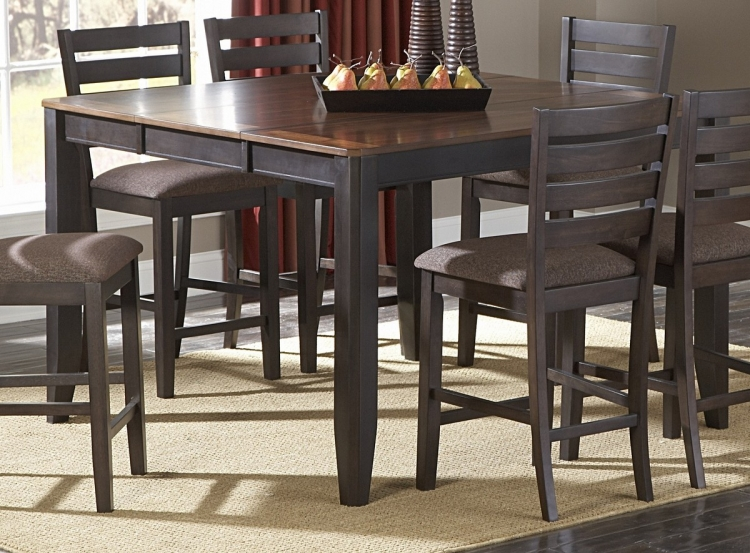 Natick Counter Height Table with Butterfly Leaf - Homelegance