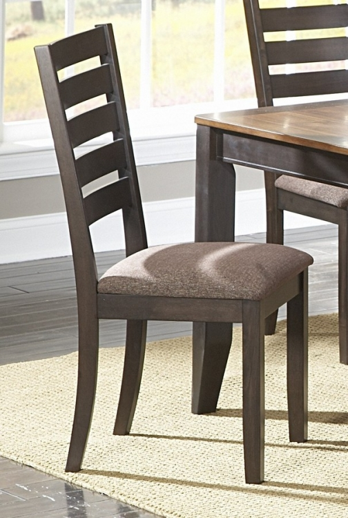 Natick Side Chair in Ladder Back Style - Homelegance