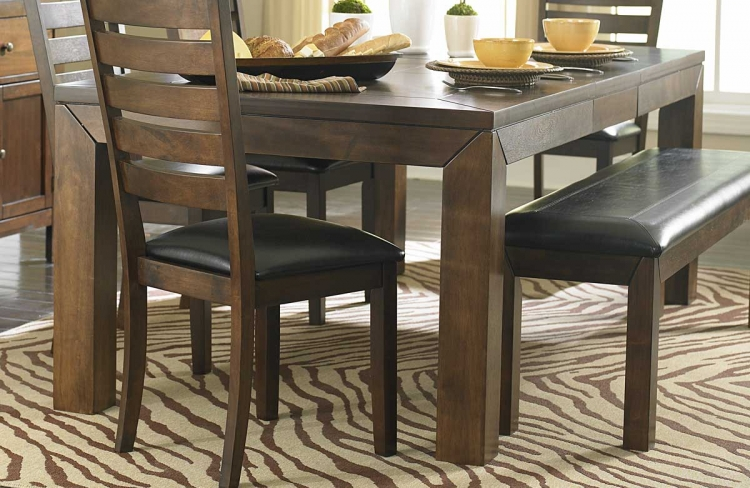 Eagleville Dining Table - Acacia - Homelegance