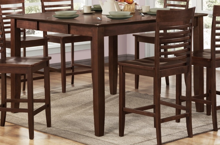 Tyler Counter Height Dining Table - Homelegance