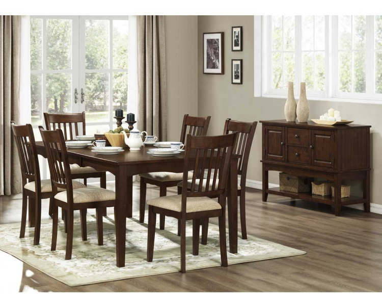 Worcester Dining Set - Homelegance