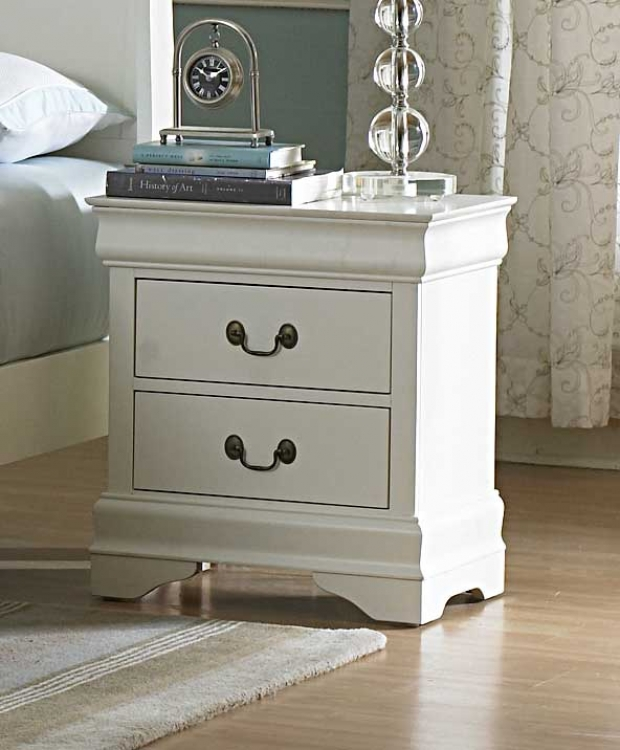 Marianne Night Stand - White