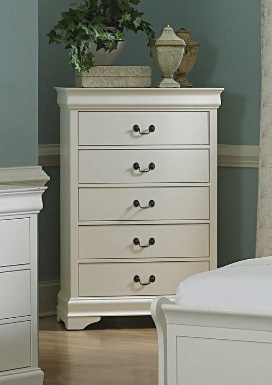 Marianne Chest - White - Homelegance