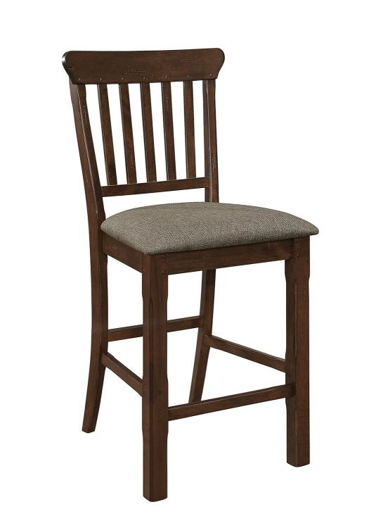 Schleiger Counter Height Chair - Dark Brown