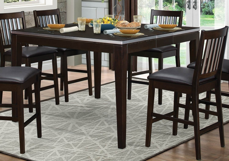 Pasco Counter Height Dining Table - Espresso