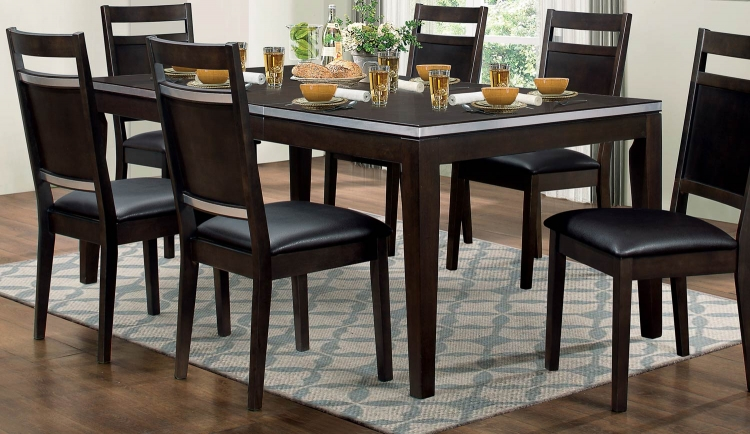 Pasco Dining Table - Espresso