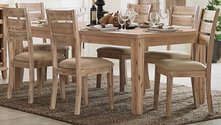 Colmar Dining Table - Light Burnished Oak